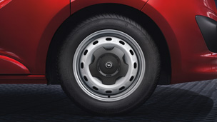 Opel Vivaro - 16 Zoll-Stahlräder