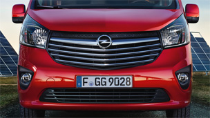 Opel Vivaro – Stilizovanje