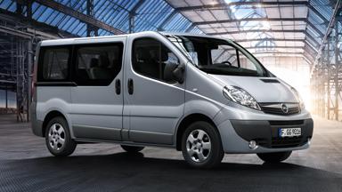Opel Vivaro - Cechy osobowe
