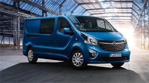 """""""Opel Vivaro"""" – Furgonas su dviguba kabina"""