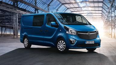 Opel Vivaro – Személyszállító furgon