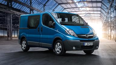 Opel Vivaro - Moc do działania