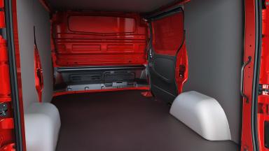 Opel Vivaro - Ladungssicherung