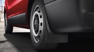 Opel Vivaro - Mudflaps