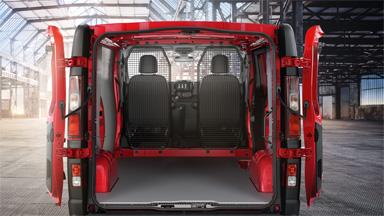 Opel Vivaro – Külön rendelhető hátsó ajtók