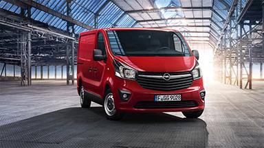 Opel Vivaro – Zárt furgon
