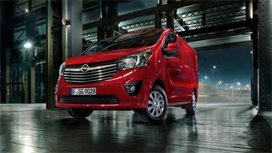 Opel Vivaro - ratastel visiitkaart