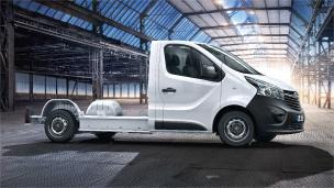 Opel Vivaro - Plattform-Fahrgestell