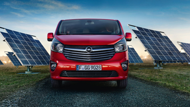 Opel Vivaro - Fussgängerschutz