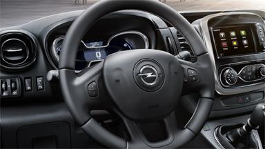 Opel Vivaro – Légzsákok