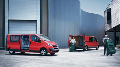 Opel Vivaro - Van z podwójną kabiną