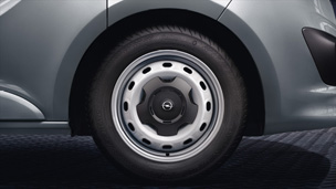 Opel Vivaro - 16˝ teräsvanne
