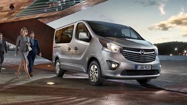 Opel Vivaro Combi - Robust und elegant