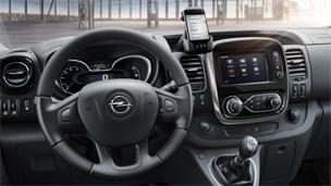 Opel Vivaro - Kiinitysteline