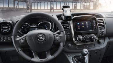 Opel Vivaro Combi - Mobile Office-Umgebung und Komfort