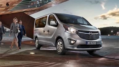 Opel Vivaro - Jalankulkijoiden suojaus