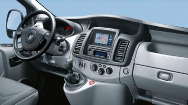 Opel Vivaro - Przestrzenna kabina