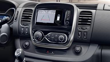Opel Vivaro - Peruutuskamera