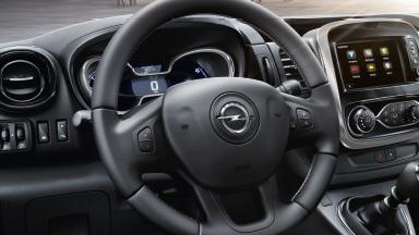 Opel Vivaro Combi - Rückhaltesysteme