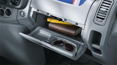 Opel Vivaro - Użyteczne rozwiązania