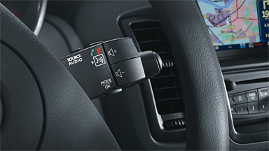 Opel Vivaro - Sterowanie systemem audio na kierownicy
