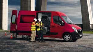 """Naujasis """"Opel Movano"""" - """"Crew Van"""""""