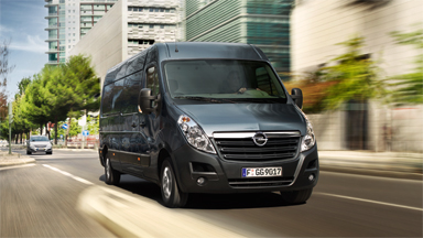 Opel Movano - Front Wheel Drive