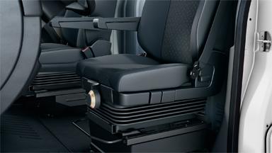 Opel Movano - Amortyzowany fotel kierowcy