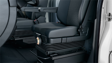 Opel Movano - gefederter Fahrersitz