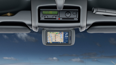 Opel Movano - High-Mounted Colour Display Screen