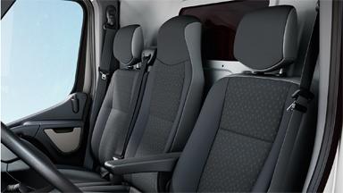 Opel Movano - Komfortowy fotel kierowcy