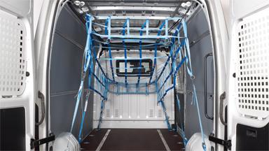 Opel Movano - Plasă de reţinere a încărcăturii