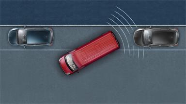Opel Movano - Czujniki parkowania