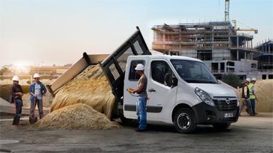 Opel Movano - Wywrotka