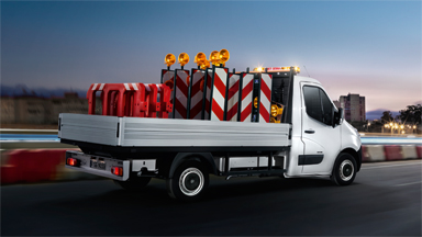 Opel Movano - Universalfastgørelse af lad