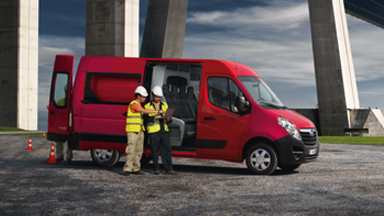 Opel Movano - Opel Movano Crew Vans