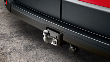 Opel Movano - Removable Trailer Hitch
