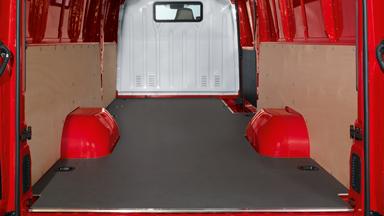 Opel Movano - Podea de protecție din lemn