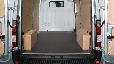 Opel Movano - Wooden Protective Panels
