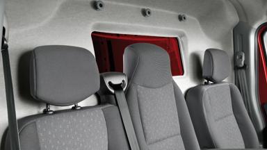 Opel Movano - Glazed Bulkhead