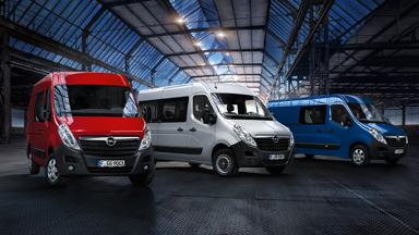 Opel Movano - Engine Range