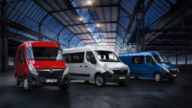 Opel Movano - Calitate deplină