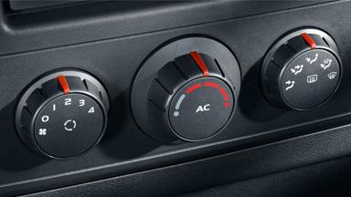 Opel Movano - Klimatyzacja sterowana ręcznie