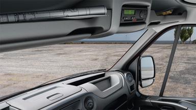 Opel Movano - Opbevaringsplads