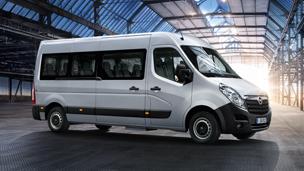 Opel Movano – Design de exterior Bus