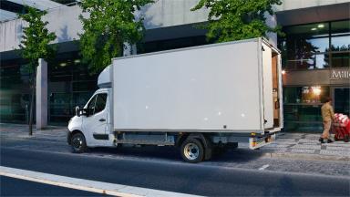 Opel Movano - Tracţiune pe puntea spate