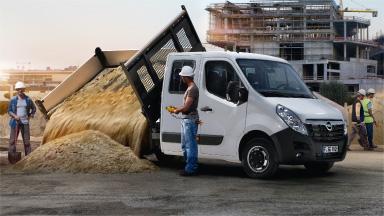 Opel Movano - Basculare prin spate sau pe 3 direcţii