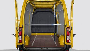 Opel Movano - Teleskopowe poprzeczki blokujące