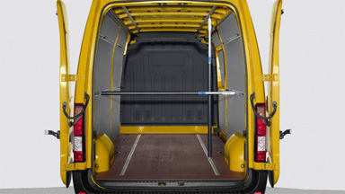 Opel Movano - Ausziehbare Sperrstangen