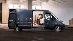 """Naujasis """"Opel Movano"""" - Krovininis furgonas """"Panel Van"""""""